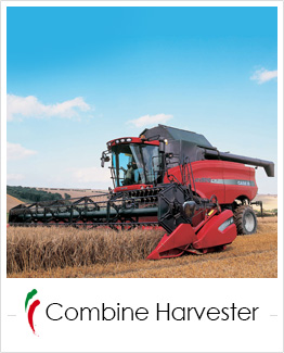industrial screen print applications: combine harvester