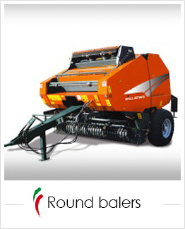 industrial screen print applications: round balers