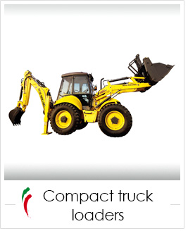 industrial screen print applications: compact truck loaders